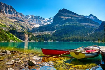 Lake O`Hara boats