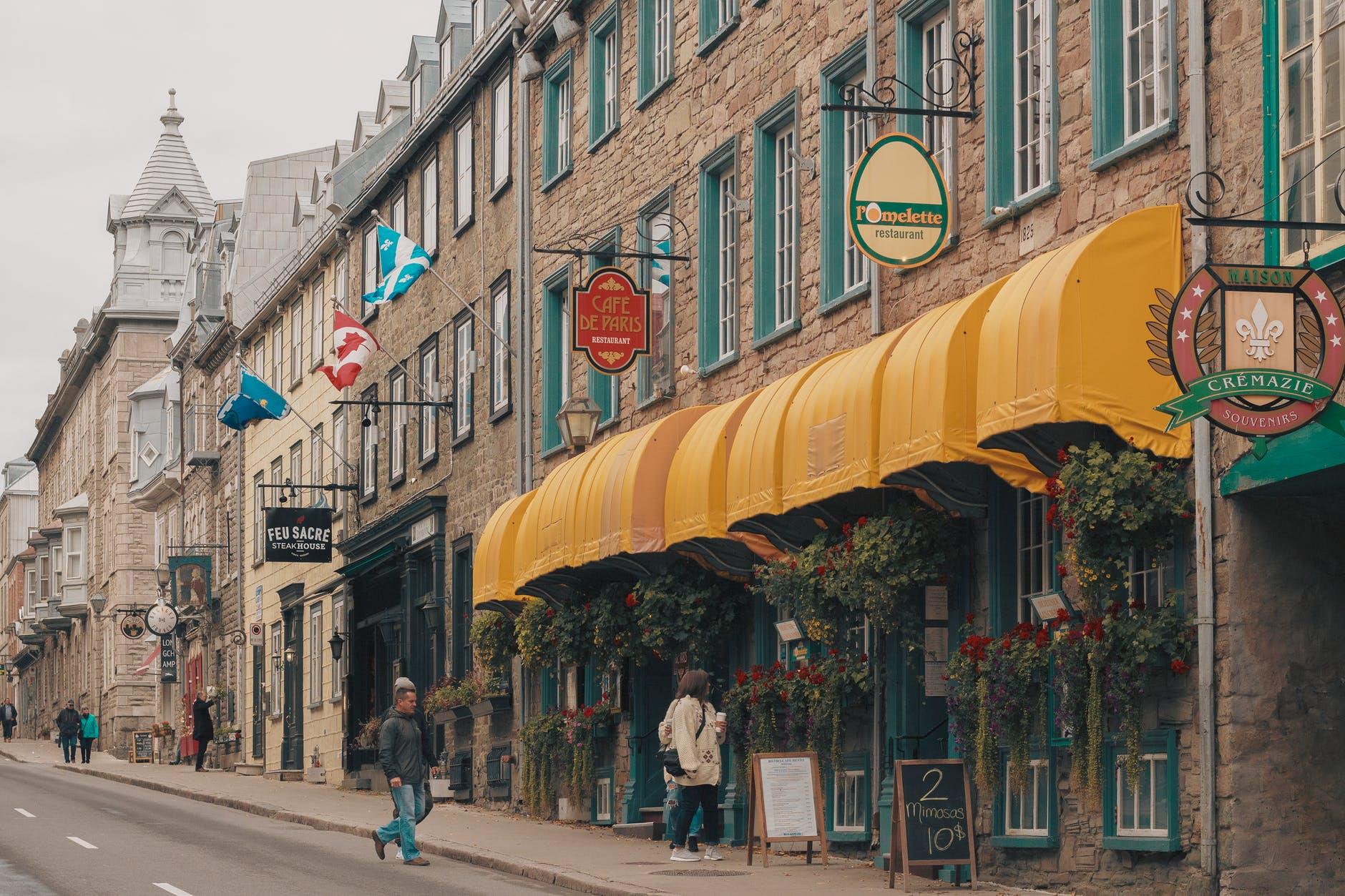 city landscape vacation street